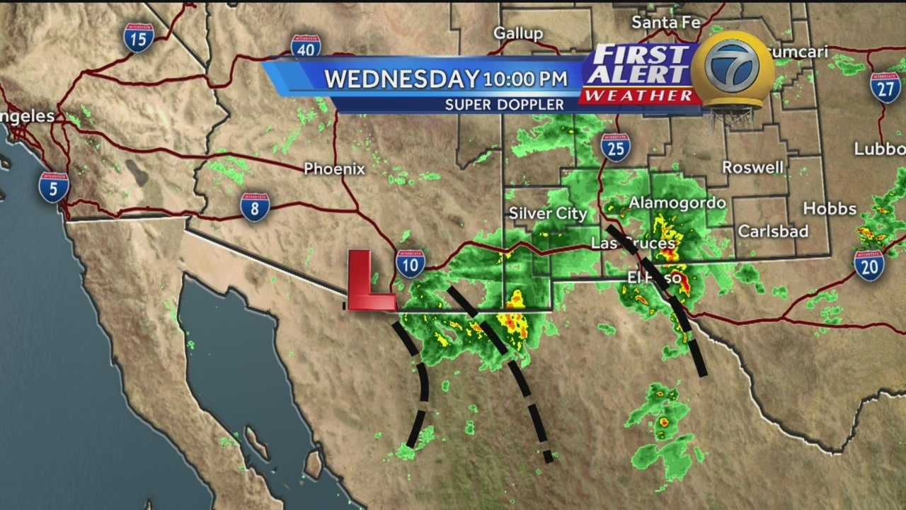 Watch KOAT Action 7 News' team weather coverage