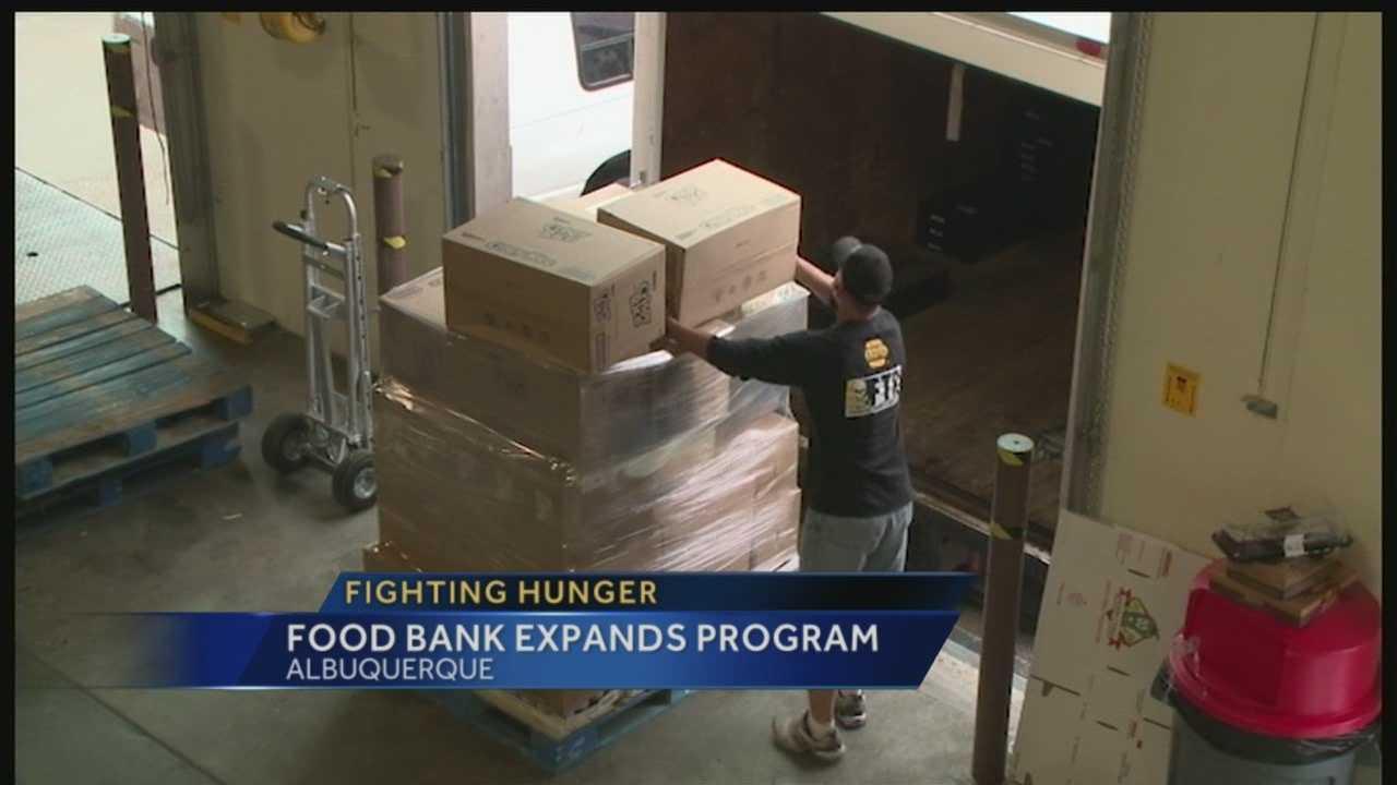 Roadrunner Food Bank Expanding Program