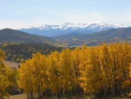 Take a scenic drive and watch the leaves change (try the Turquoise Trail on highway 536, Jemez Mountain Trail through the Valles Caldera, Billy the Kid trail near Bonita Lake, High Road to Taos through the Santa Fe National Forest or Enchanted Circle near Taos' Wheeler Peak).
