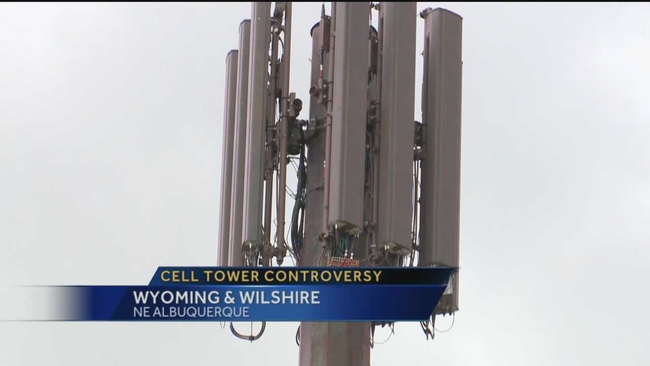 A fight over a cell tower could have a big effect on Albuquerque's landscape.