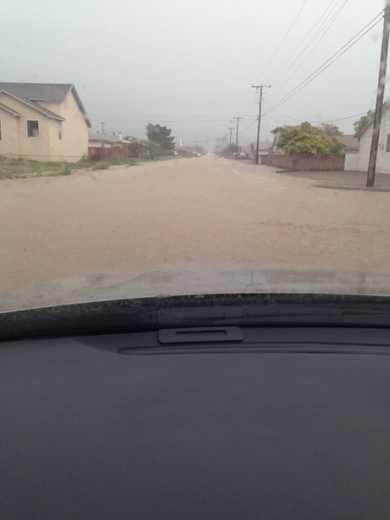 Alamogordo flooding by u local mobile