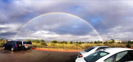 Rainbow from u local mobile