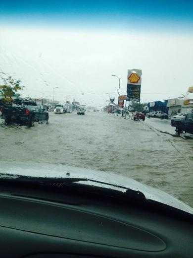 White Sands Boulevard in Alamogordo by u local mobile.