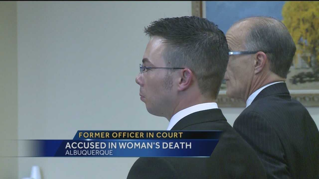 Former Albuquerque police Sgt. Adam Casaus is on trial and accused of recklessly driving and crashing into a young woman's car, killing her.