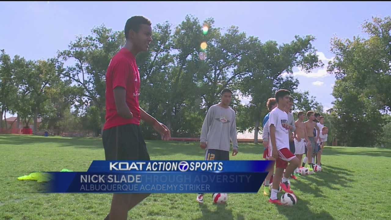 The Albuquerque Academy boys soccer team is one of the best in the state, and the Chargers are led by a player with a disability. KOAT Action 7 News Sports Director Orlando Sanchez introduces us to their captain Nick Slade.