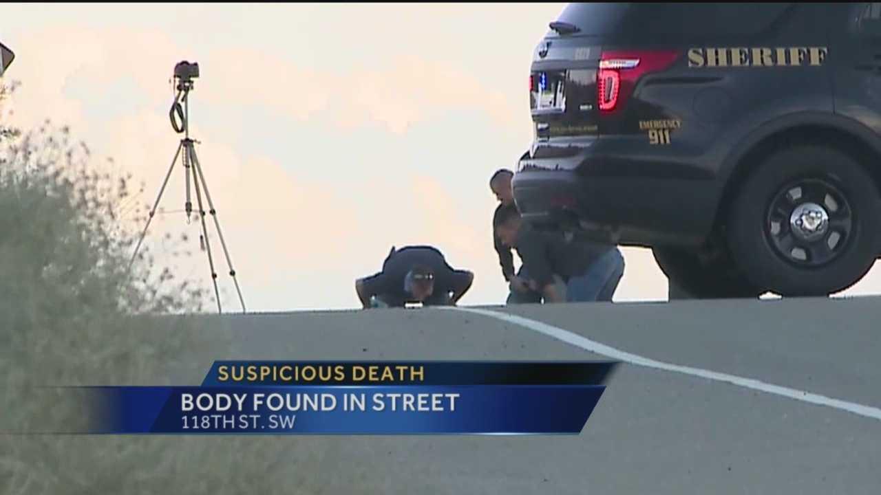 Body Found In Street