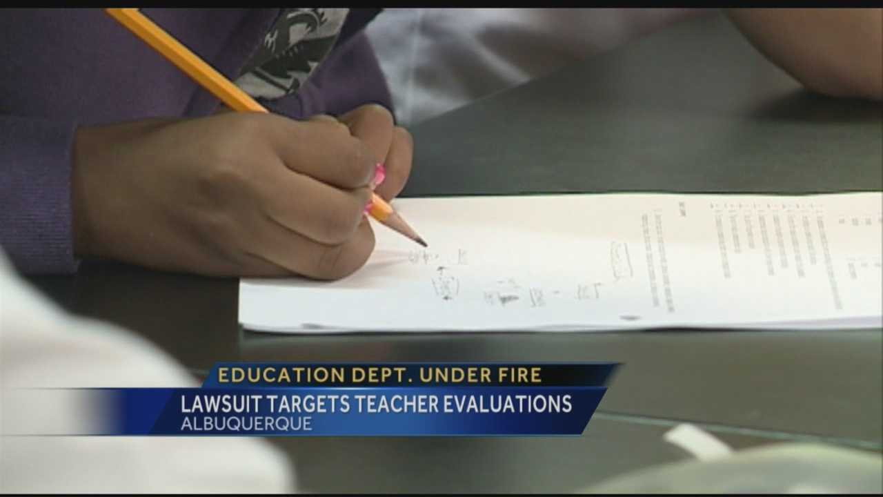 Lawsuit targets teacher evaluations