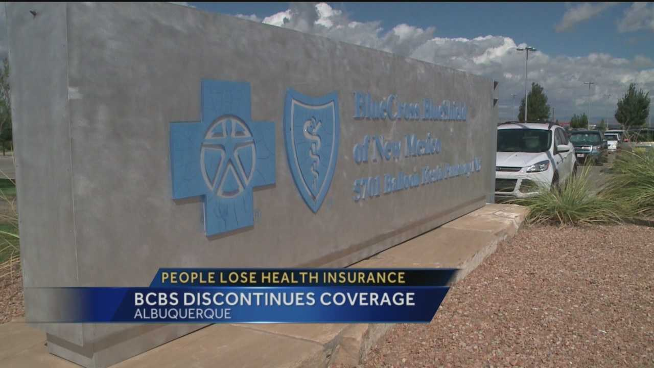 Some people with Blue Cross Blue Shield of  New Mexico are losing their health insurance. The company mailed a letter telling thousands of members their insurance plans would expire in November. We spoke with the insurance company to find out why.