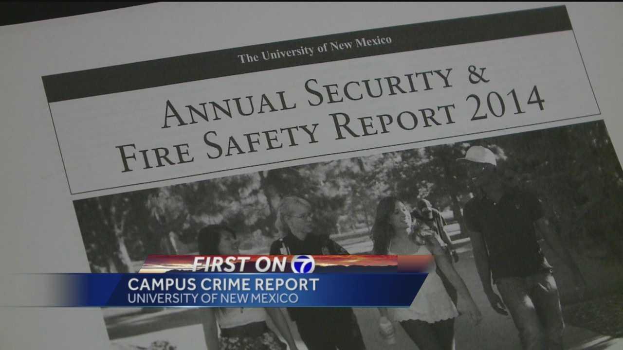 UNM Campus Crime Report