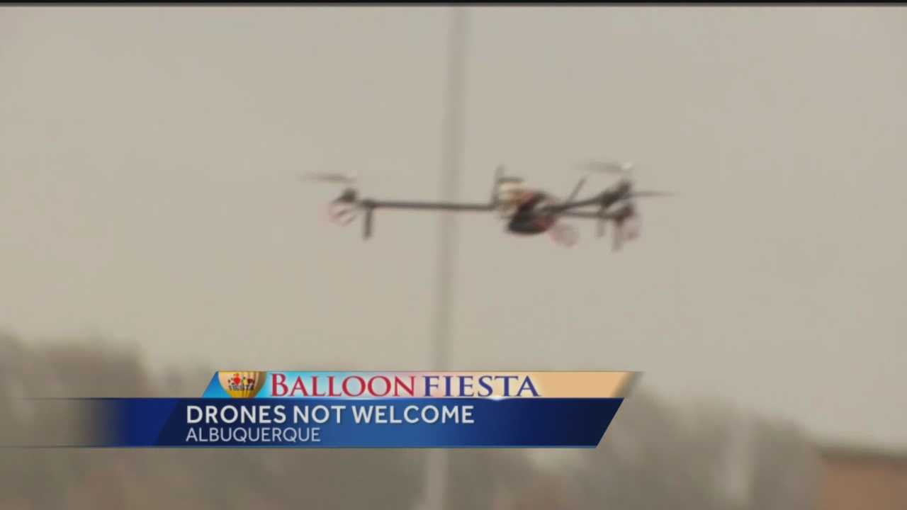 The Albuquerque Balloon Fiesta is just over two days away, and this year organizers are worried that it will not just be balloons filling the sky but drones as well.
