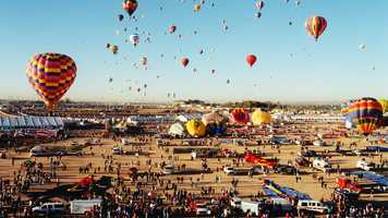 See photos from the Balloon Fiesta in the late 1990s.