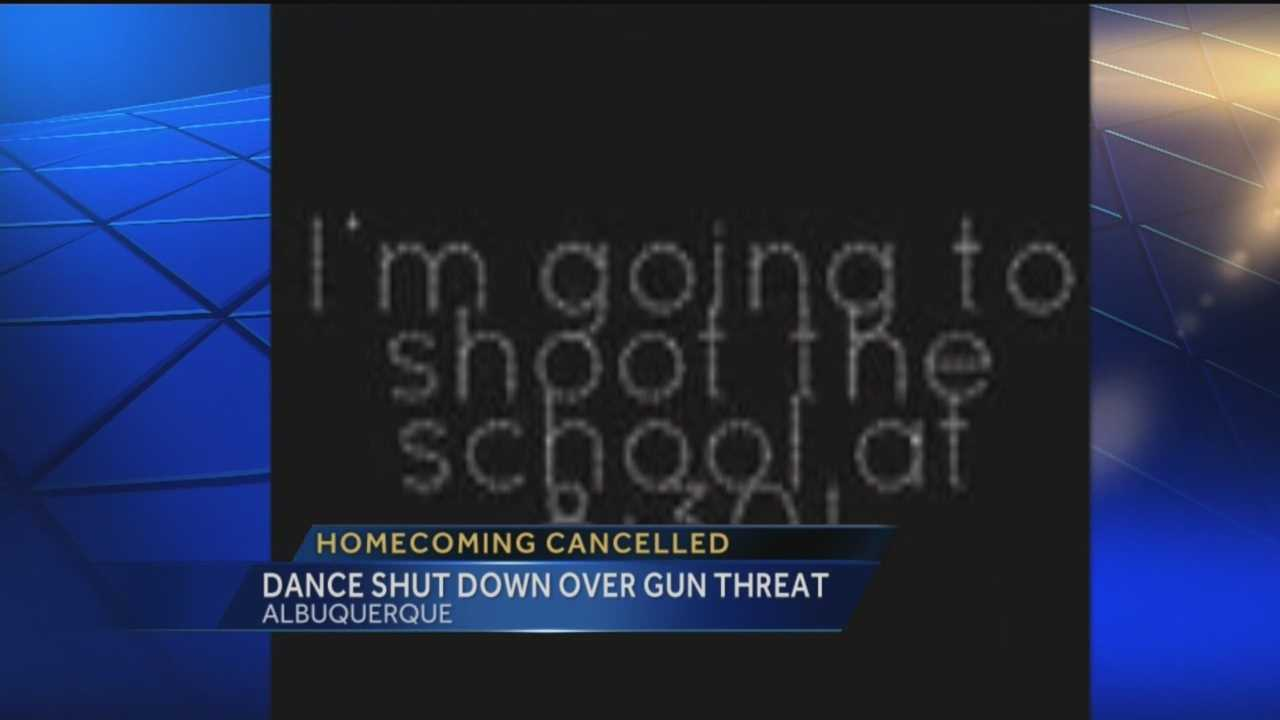 An empty school that should be filled with students and music, is instead on lock down.