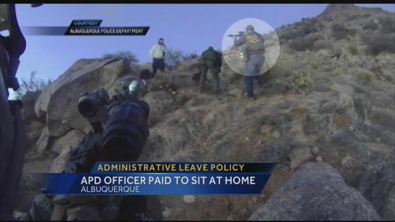 APD Officer Paid To Sit At Home