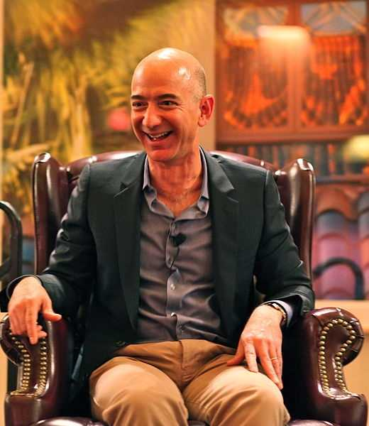 Jeff Bezos. Born in Albuquerque. Founded Amazon.com.
