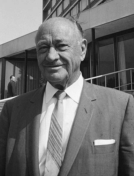 Conrad Hilton. Born in San Antonio, New Mexico. Founded Hilton Hotels.