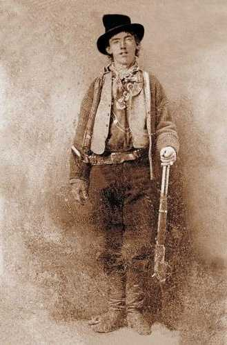 Billy the Kid. Settled in Silver City. Legendary outlaw.