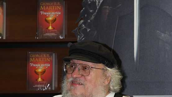 George R. R. Martin. Lives in Santa Fe. Author.