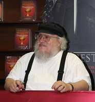 George R. R. Martin. Lives in Santa Fe. Author.