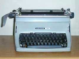Extra mile: Carry around either a typewriter, or a copy of 'A Game of Thrones,' first published in 1996.