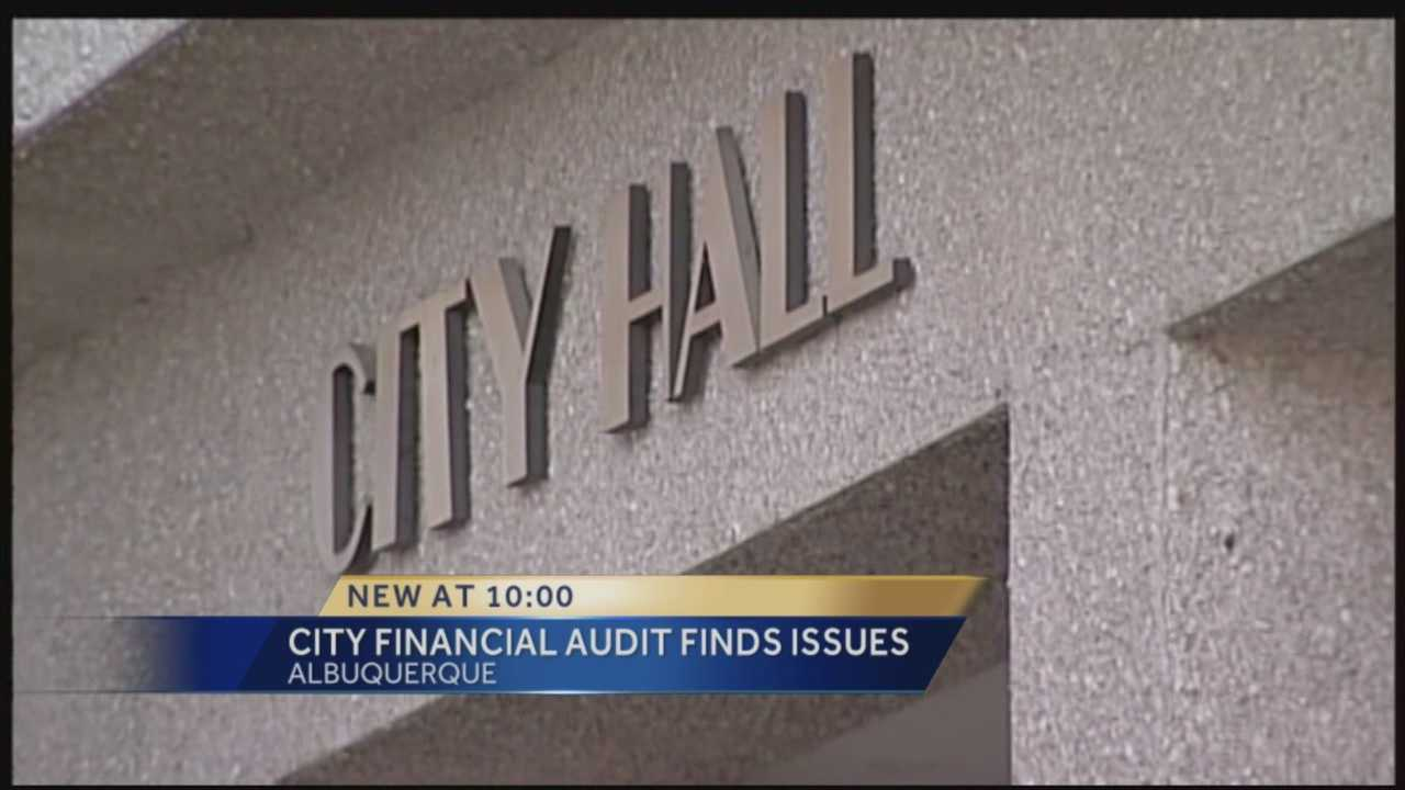 Albuquerque's Office of Internal Audit presented its annual report of internal audits of city departments Monday night.