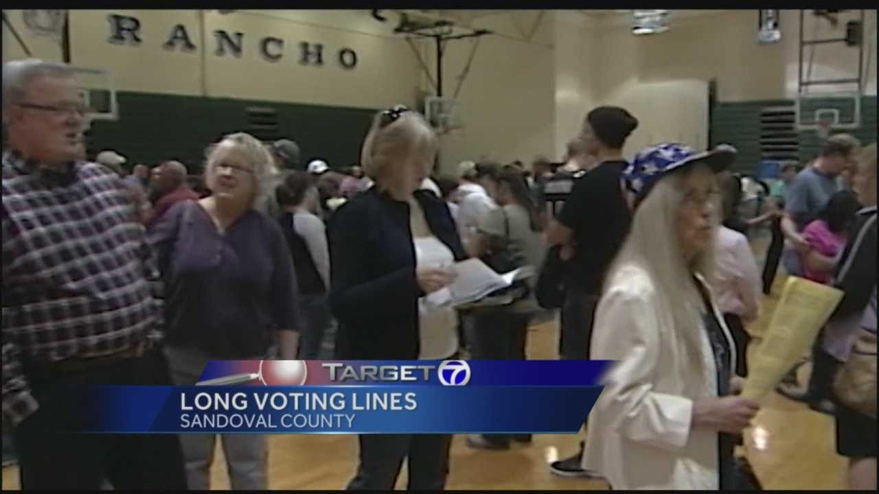 The 2012 election in Rio Rancho was a mess, thousands of people waiting in lines for hours just to vote.