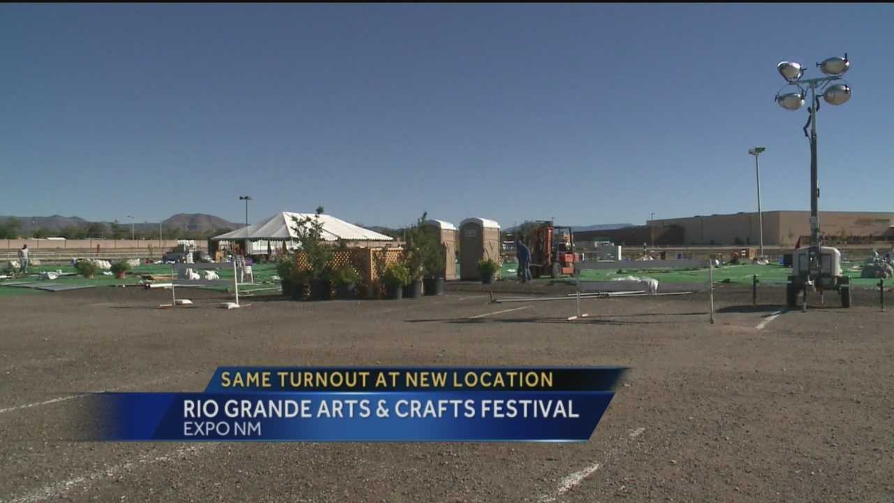 The Rio Grande Arts and Crafts Festival is worried about their new location.
