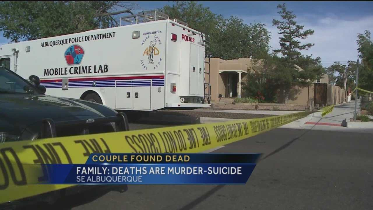Albuquerque police are investigating two suspicious deaths after a son found his parents dead in their southeast Albuquerque.