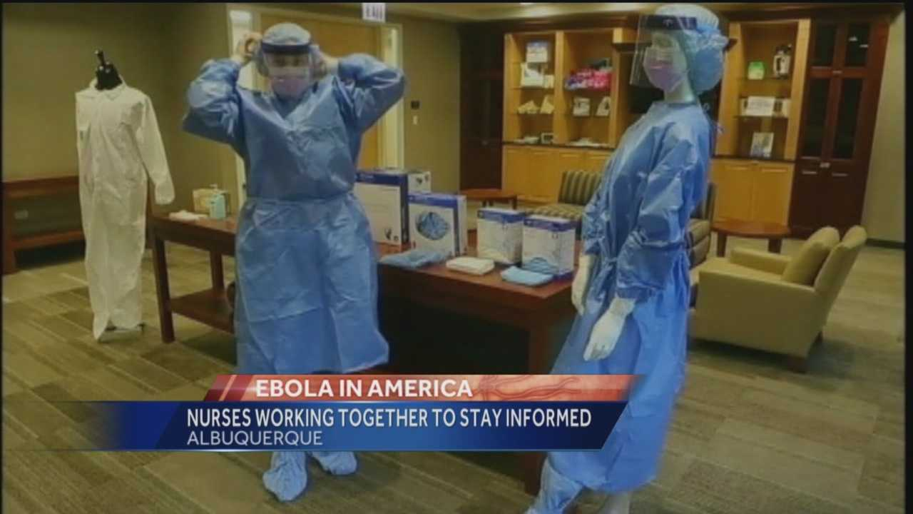 Are New Mexico nurses worried about Ebola?