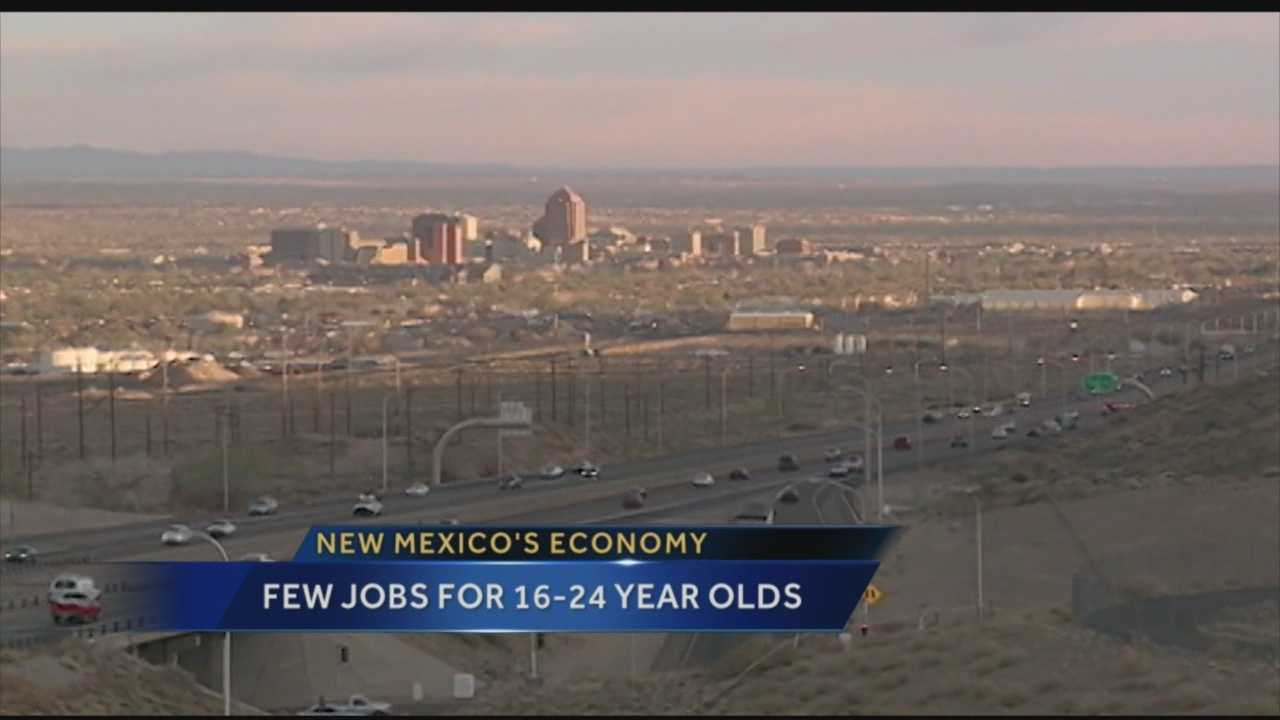 New Mexico is one of the hardest places for teens and young adults to find a job, according to a new report from New Mexico Voices for Children.