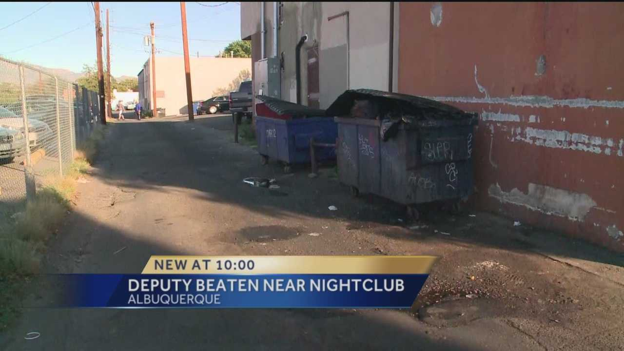 An Albuquerque man now faces criminal charges after beating up an off-duty Bernalillo County sheriff's deputy outside a Nob Hill nightclub.