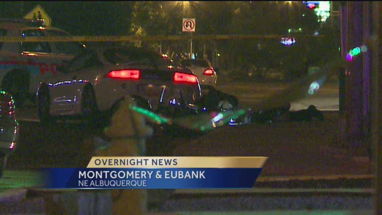 It happened near Eubank and Montgomery, police say one person was killed.