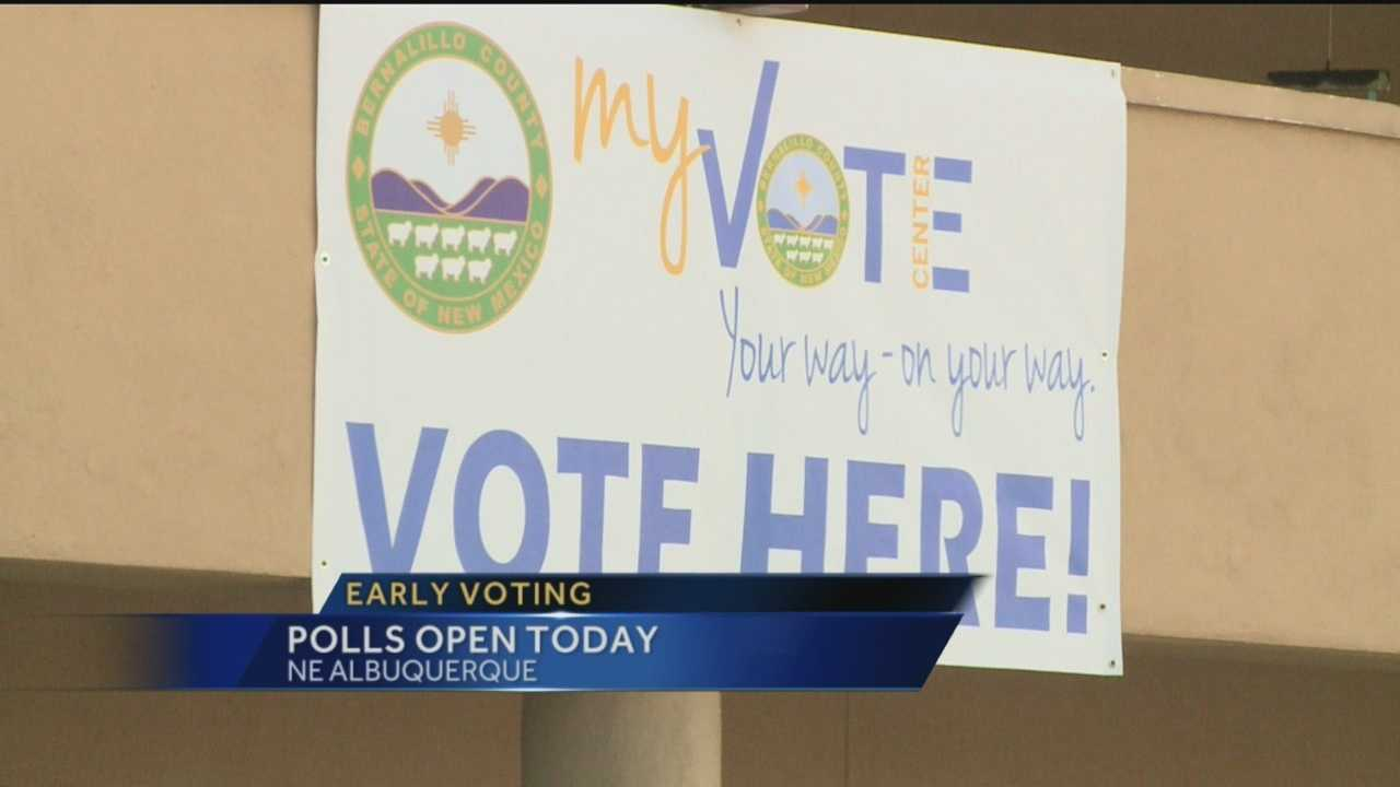 Early Voting Opens Today