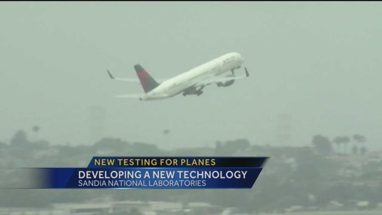 Sandia Labs is working with the airline industry to make planes safer.