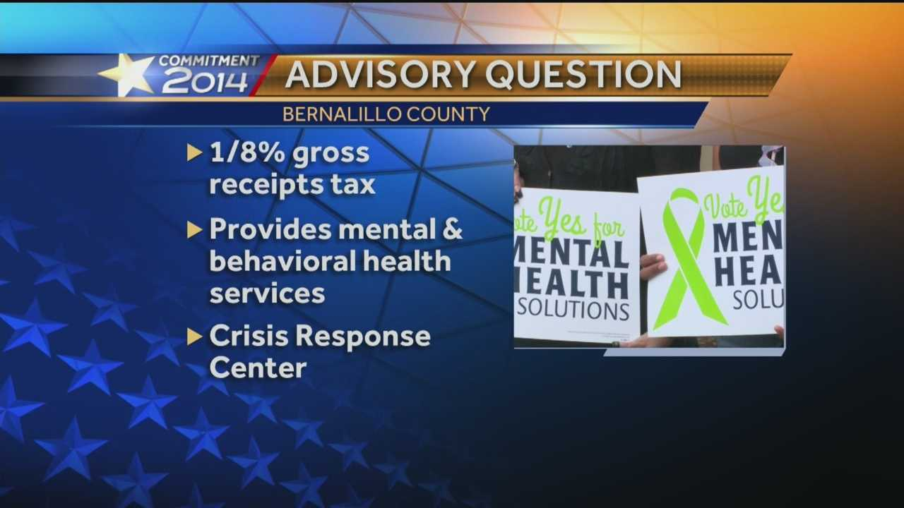Families of people with mental illness want residents to vote on a ballot advisory question in Bernalillo County.