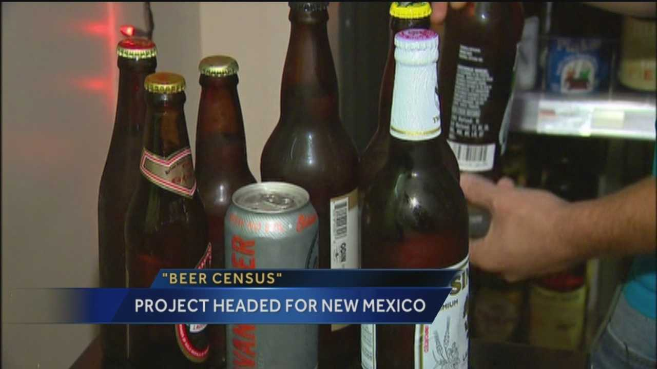 Two men attempting to taste every beer in America are headed to New Mexico for their beer census project.