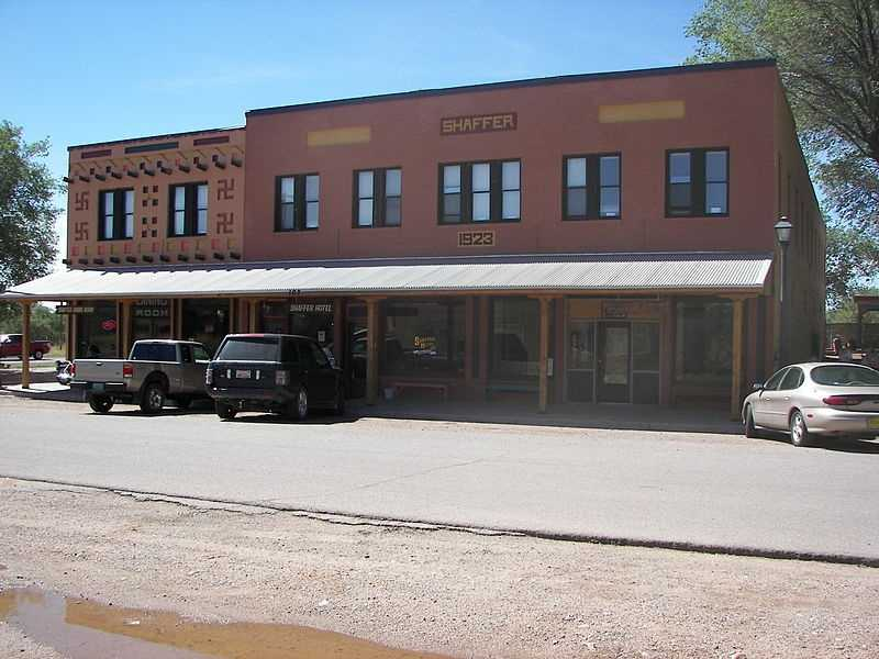 Shaffer Hotel, Mountainair