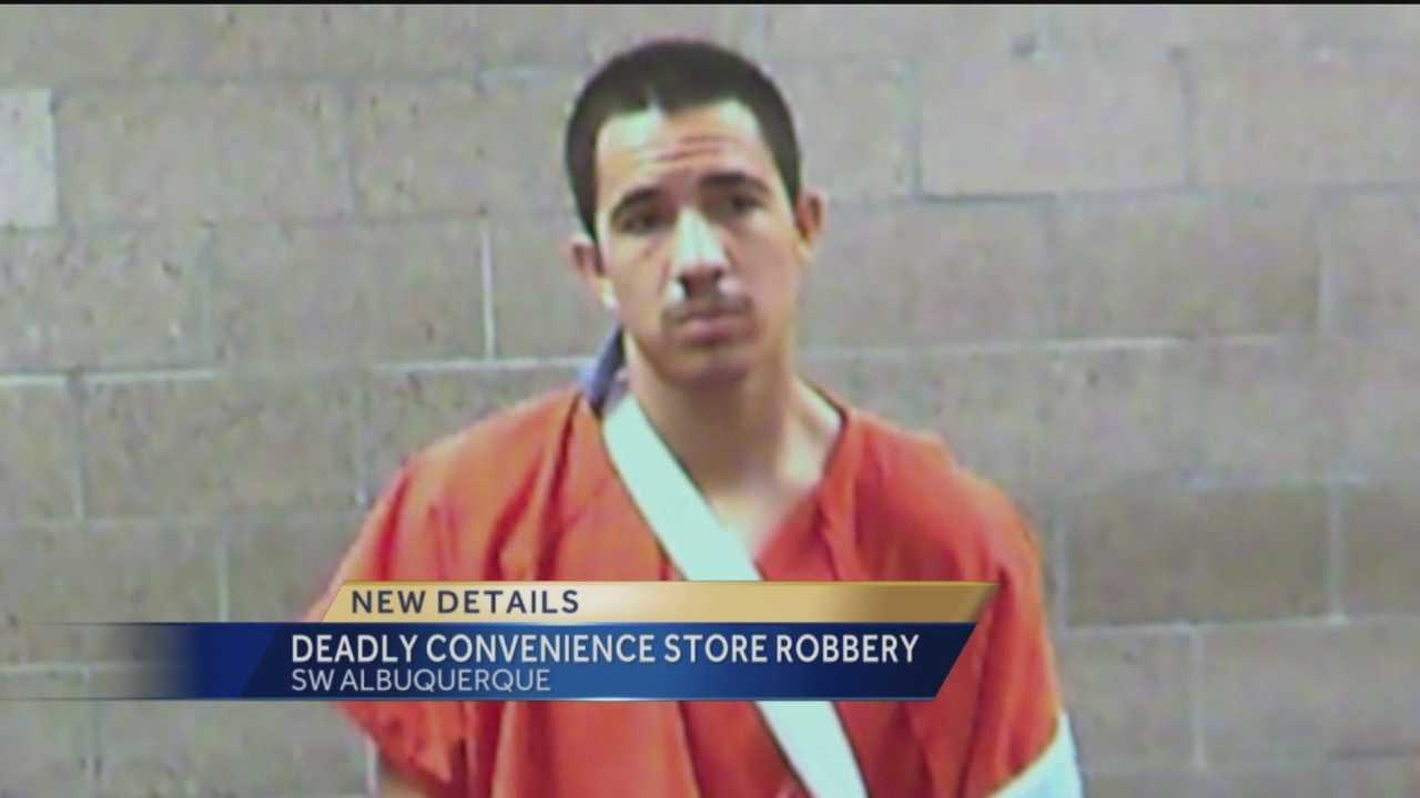 One person is dead after a robbery in Albuquerque's South Valley. He was one of two suspects. The one who survived appeared in court on Wednesday.