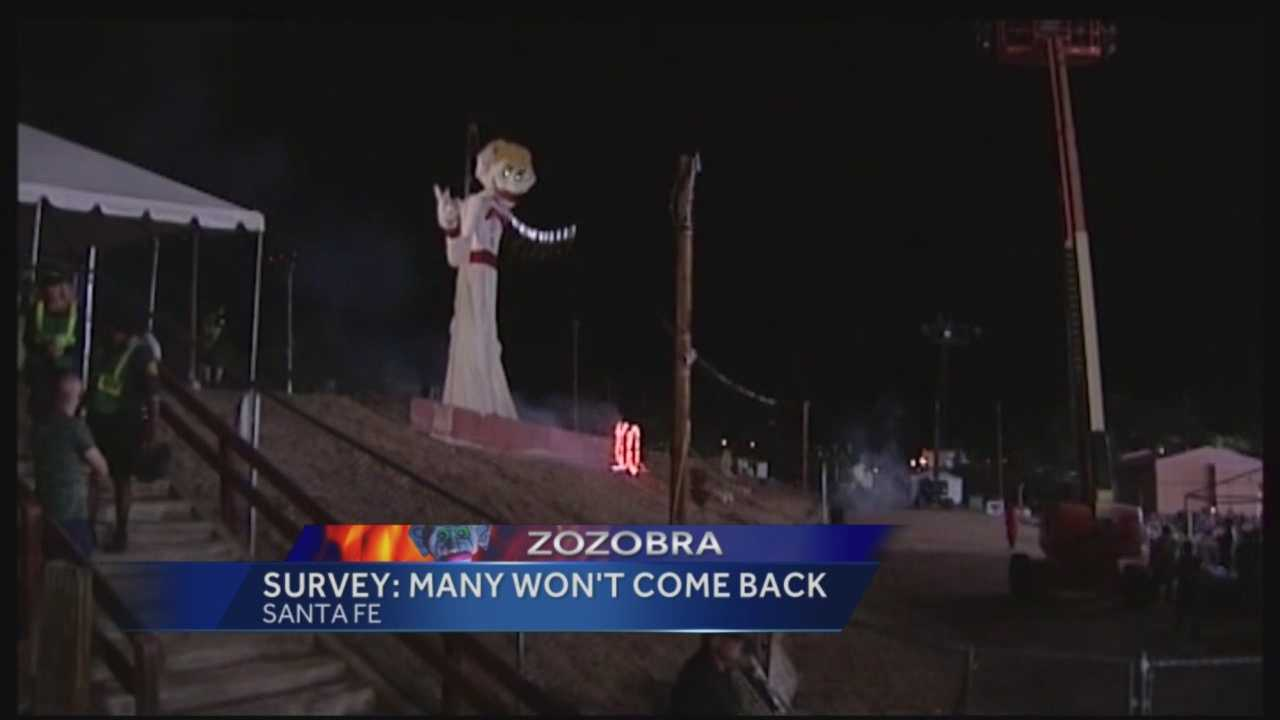 Event organizers are scratching their heads after one of the biggest turnouts in Zozobra history.