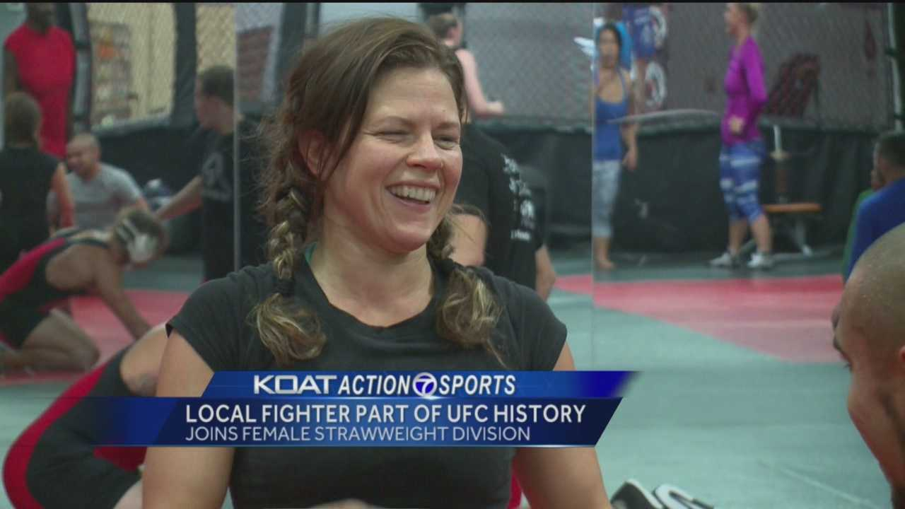 Mixed Martial Arts (MMA) is becoming a sport of choice for women, and some of the world's best are choosing to train here in New Mexico.