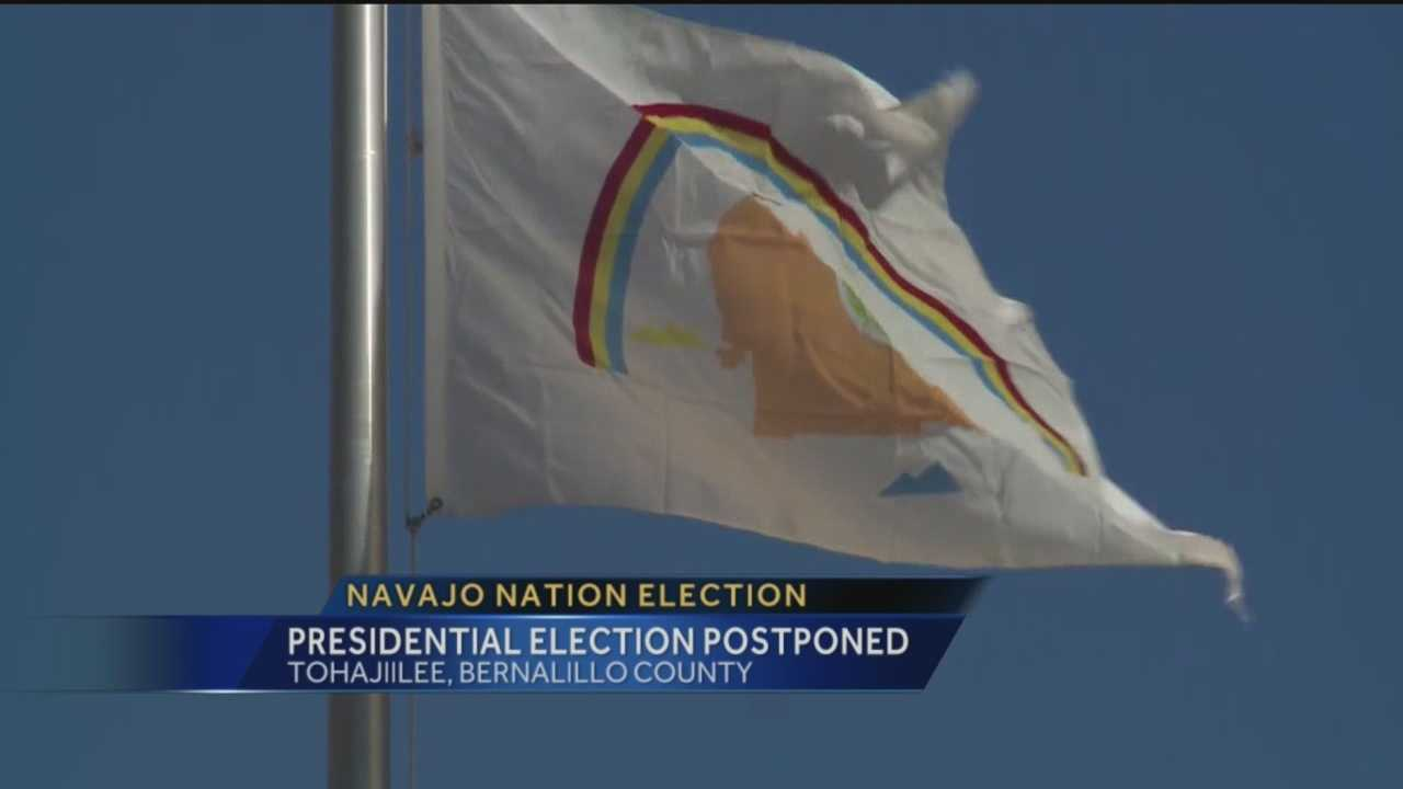 The election of a new Navajo president will be postponed. This comes after questions surrounding how fluent one candidate is in the Navajo language.