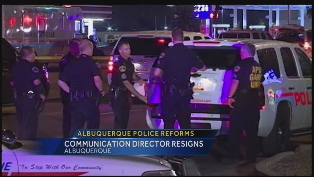 Right after the Department of Justice announced the Albuquerque police department had a pattern of excessive force.