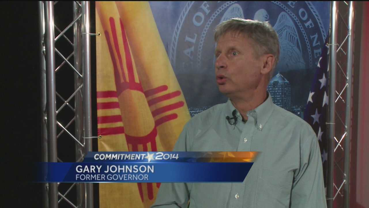 Former Governor Gary Johnson was very popular. He's also quite outspoken. So you won't be surprised to hear, he has some strong feelings on this year's race for governor.