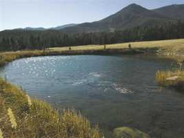 Time for a little switch this week. Take a peek at this 500-acre ranch for sale in Mora, N.M. that's featured on Realtor.com