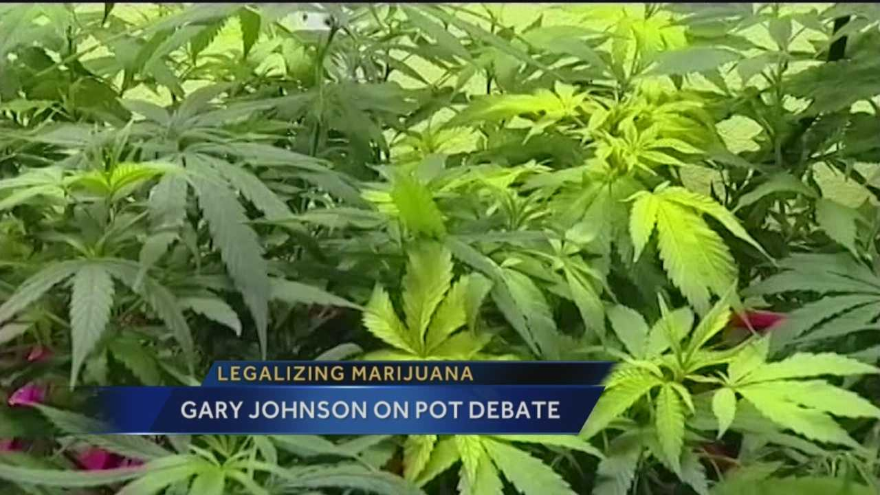 This election season, former Governor Gary Johnson says there is a glaring example of politicians not listening to the public when it comes to pot.