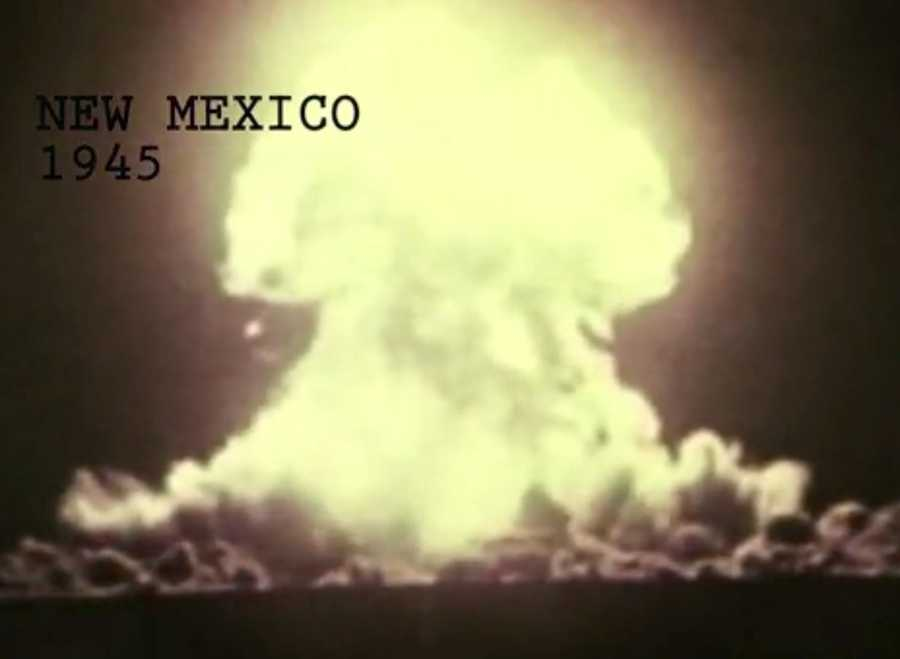 The first atomic bomb was detonated in southern New Mexico on July 16, 1945. Check out seven things you need to know about the Trinity Test.