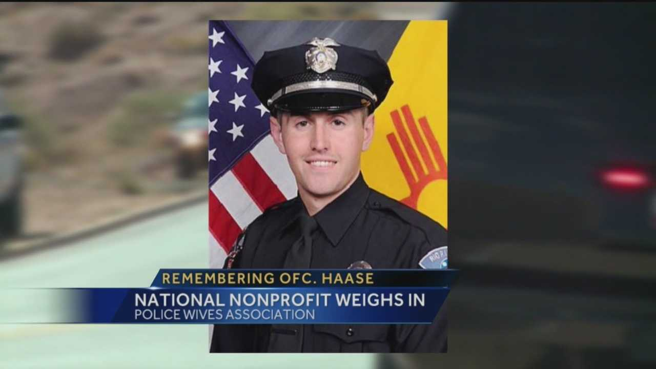 A national group has a message for the family of a Rio Rancho deputy who died on Sunday.