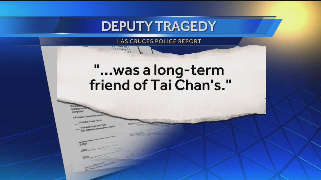 Men mentioned in a police report from this week's deadly deputy shooting have more in common than their involvement in the incident.