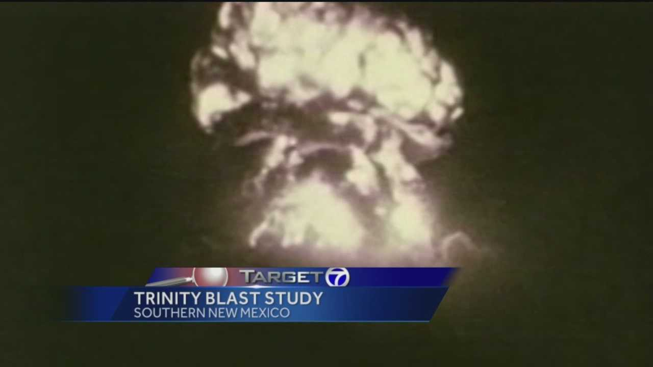 Nearly 70 years ago, the first atomic bomb detonated in southern New Mexico at what's now known as the Trinity Site.