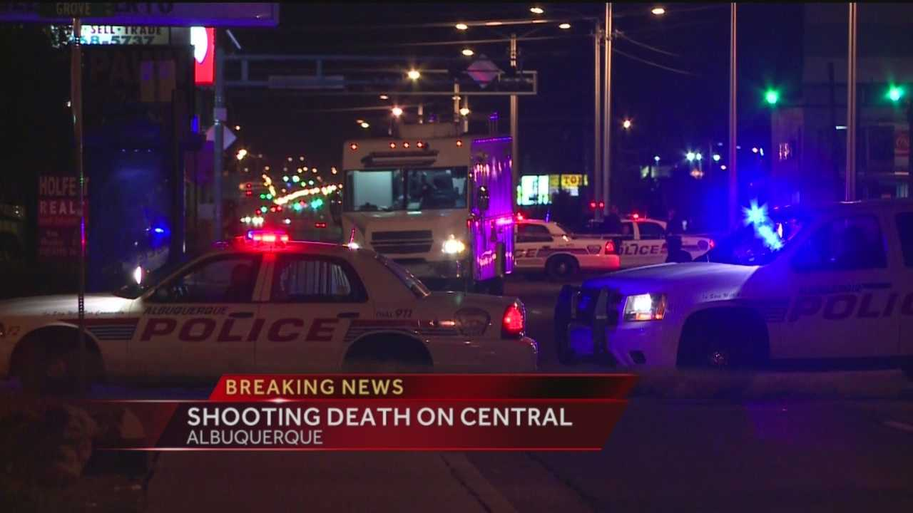 Shooting Death On Central