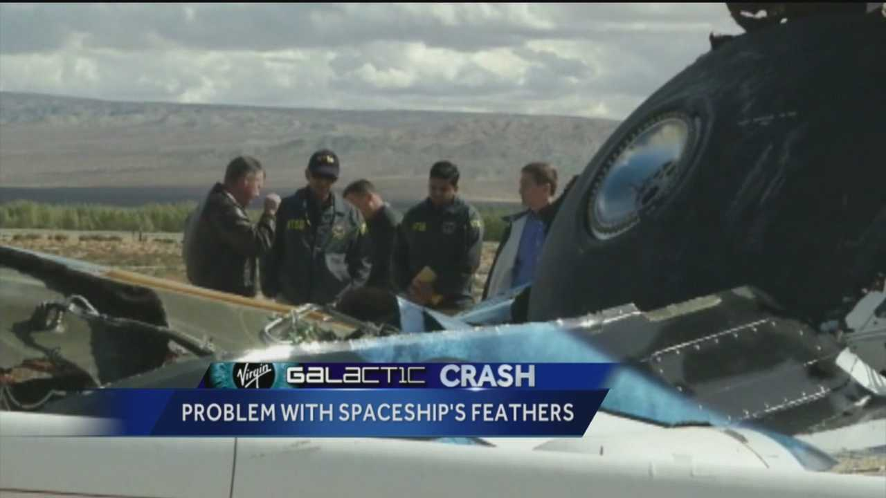 The deadly crash of a Virgin Galactic spaceship may have been the result of a pilot error.